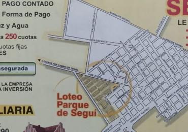 VENTA de Loteos en Seguí