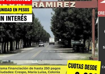 VENTA de Terreno en General Ramírez